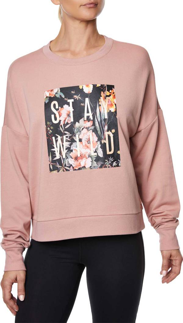 Betsey Johnson Women's Stay Wild Graphic Sweatshirt product image