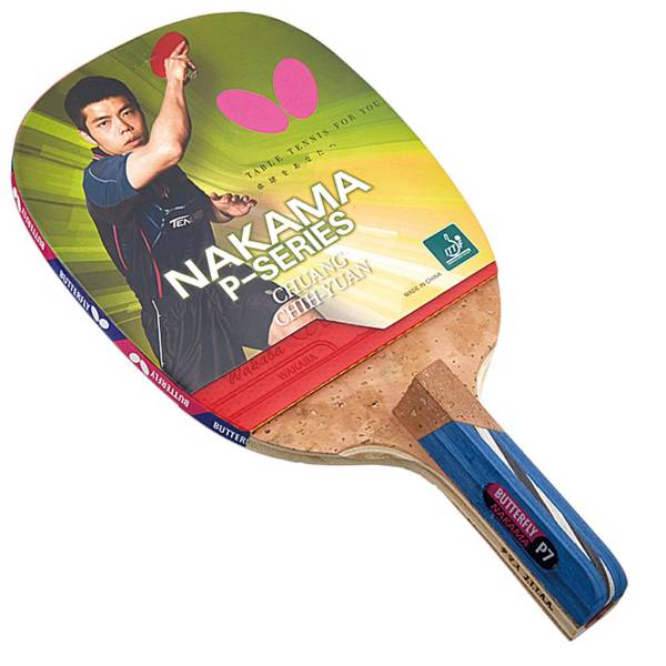 Butterfly Nakama P-7 Penhold Table Tennis Racket product image