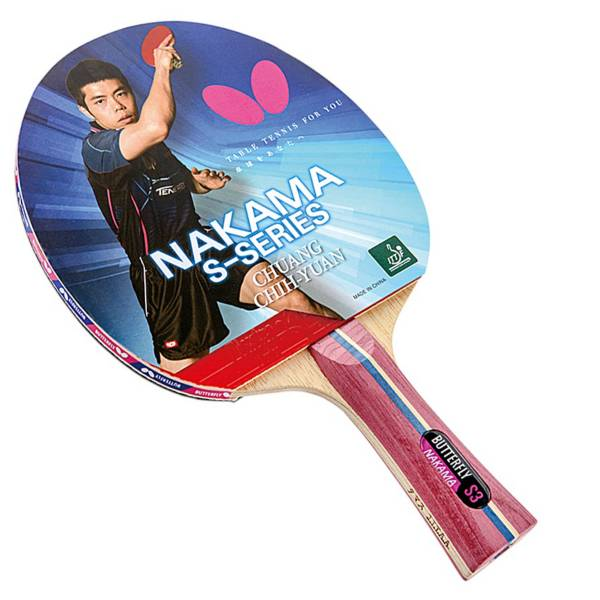 Butterfly Nakama S-3 Table Tennis Racket product image