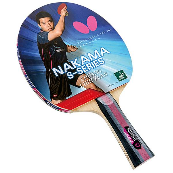 Butterfly Nakama S-7 Table Tennis Racket product image