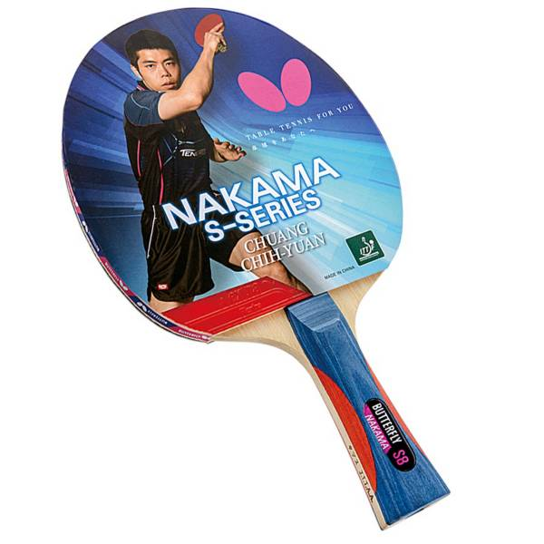 Butterfly Nakama S-8 Table Tennis Racket product image