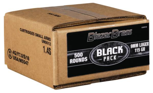 Blazer Brass Black Pack FMJ Handgun Ammunition product image