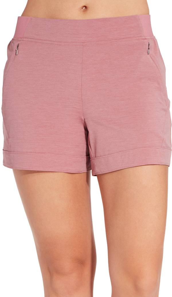CALIA by Carrie Underwood Women's Anywhere Heather 5'' Cuff Shorts product image