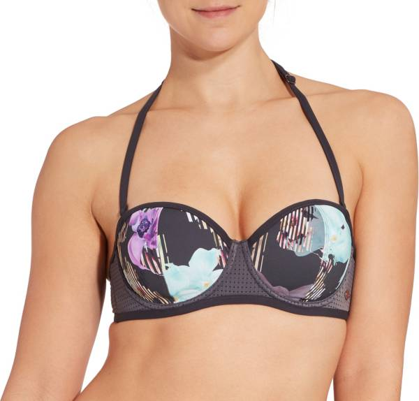 CALIA by Carrie Underwood Women's Bandeau Printed Bikini Top product image