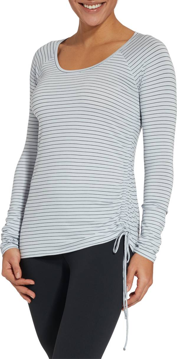 CALIA by Carrie Underwood Women's Side Tie Long Sleeve Shirt product image