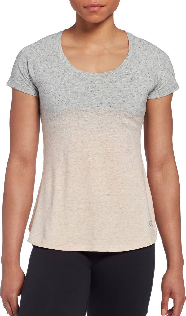 CALIA by Carrie Underwood Women's Everyday Dip Dye Heather T-Shirt product image