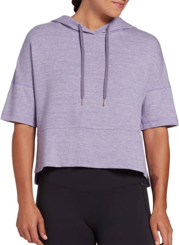 CALIA by Carrie Underwood Women's Effortless Heather Short Sleeve Hoodie product image