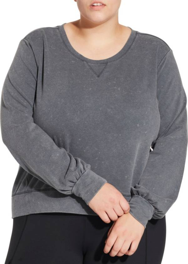 CALIA by Carrie Underwood Women's Plus Size Effortless Pullover Sweatshirt product image