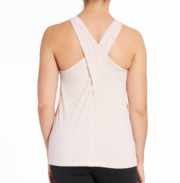 CALIA by Carrie Underwood Women's Heather Cross Back Tank Top product image