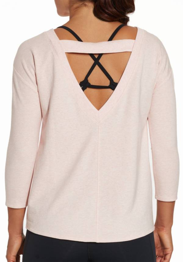 CALIA by Carrie Underwood Women's Effortless V-Neck Sweatshirt product image