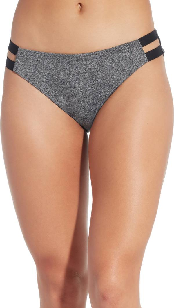 CALIA by Carrie Underwood Women's Solid Elastic Side Bikini Bottoms product image