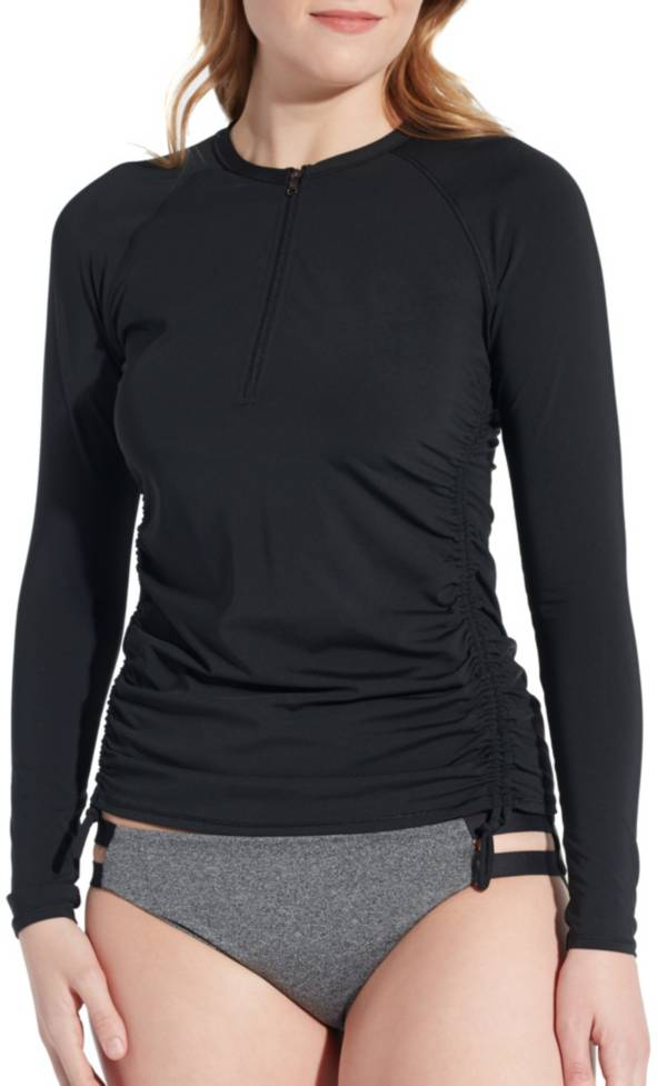 CALIA by Carrie Underwood Women's Long Sleeve Zip-up Rash Guard product image