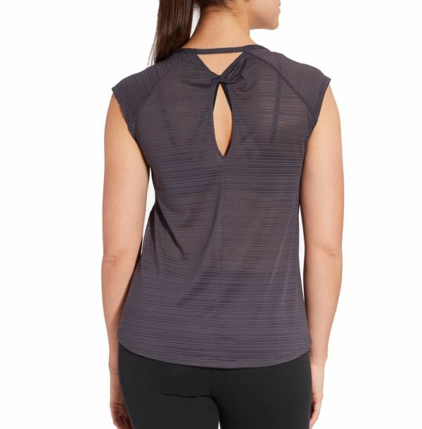 CALIA by Carrie Underwood Women's Move Printed Mesh Back Cap Sleeve T-Shirt product image