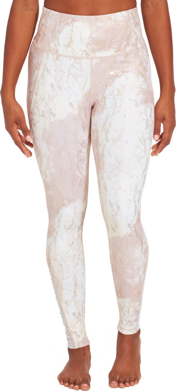 CALIA by Carrie Underwood Women's Essential Printed High Waist Ruched Leggings product image