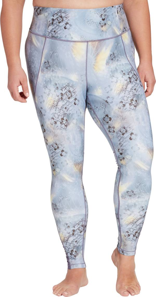 CALIA by Carrie Underwood Women's Plus Size Essential Printed High Waist Ruched Leggings product image