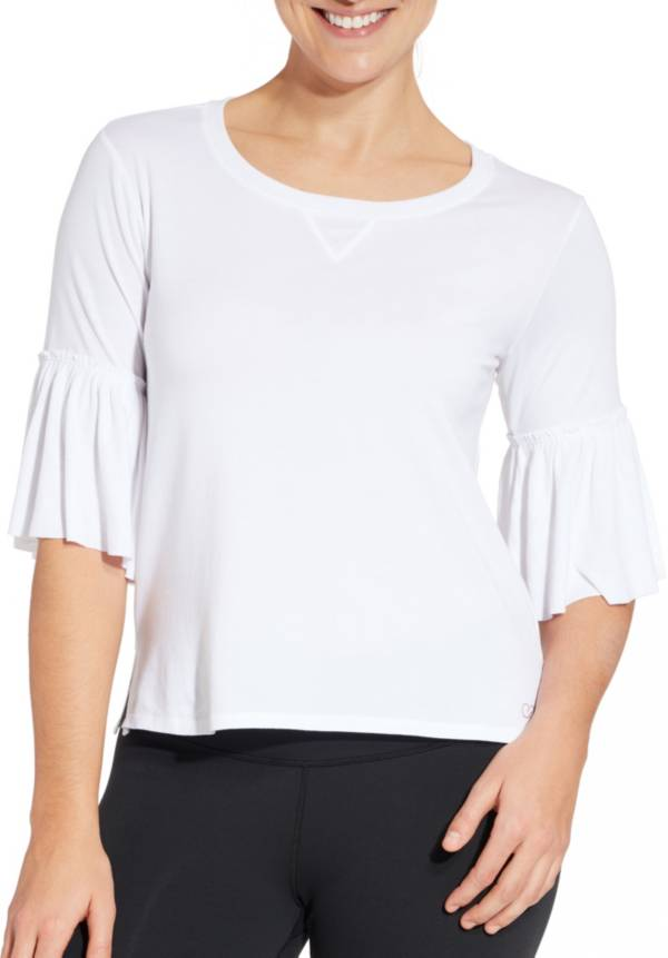 CALIA by Carrie Underwood Women's Ruffle T-Shirt product image