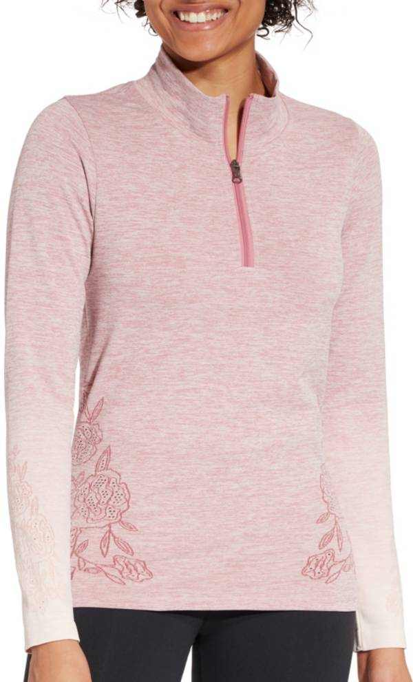 CALIA by Carrie Underwood Women's Seamless 1/4 Zip Long Sleeve Shirt product image