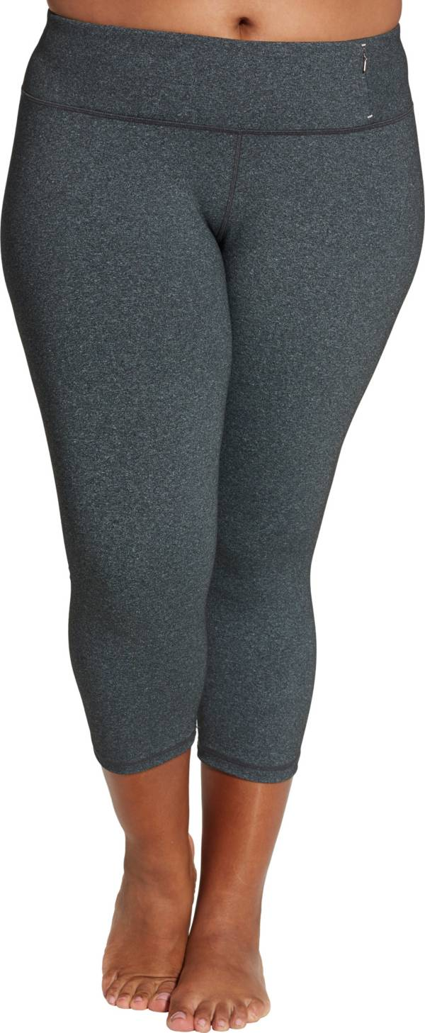 CALIA by Carrie Underwood Women's Plus Size Heather Essential No Seam Capris product image