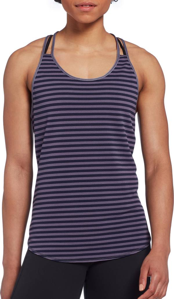 CALIA by Carrie Underwood Women's Move Stripe Tank Top product image