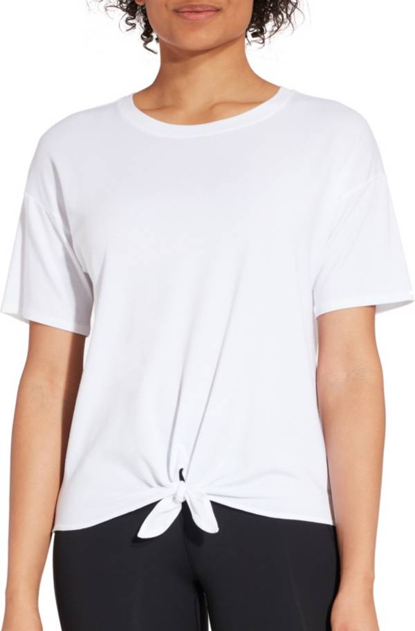 CALIA by Carrie Underwood Women's Tie Front T-Shirt product image
