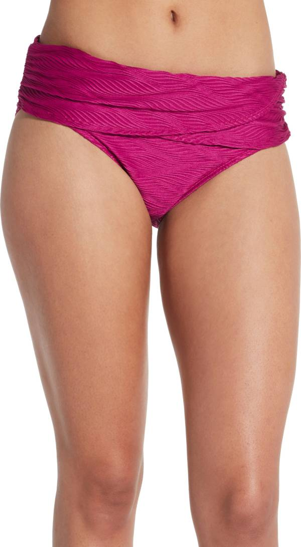 CALIA by Carrie Underwood Women's Solid Overlap Swim Bottoms product image