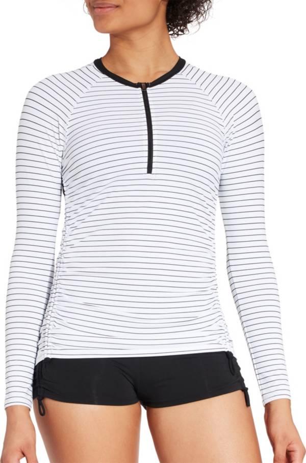 CALIA by Carrie Underwood Women's Zip Up Long Sleeve Rash Guard product image