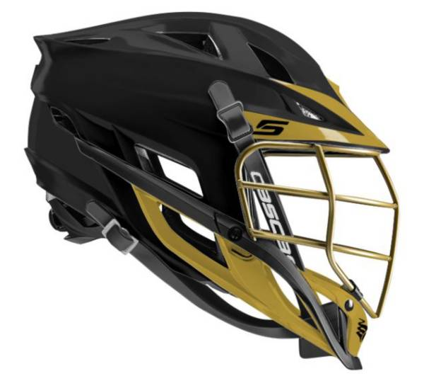 Cascade Youth Custom S Matte Lacrosse Helmet w/ Gold Mask product image