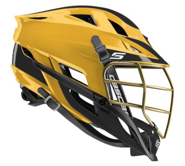 Cascade Youth Custom S Lacrosse Helmet w/ Gold Pearl Mask product image