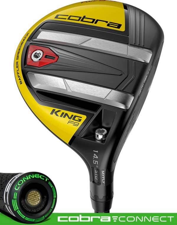 Cobra KING F9 Speedback Fairway Wood – Black/Yellow product image