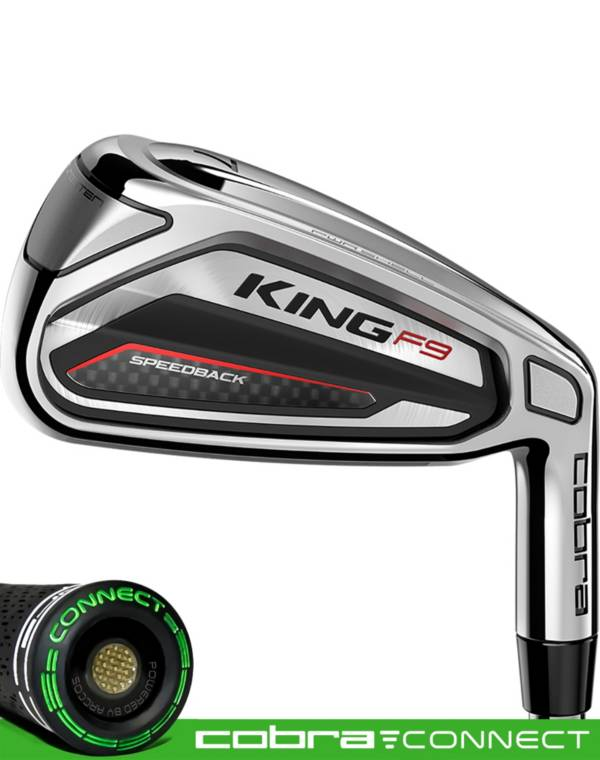 Cobra KING F9 Speedback Irons – (Steel) product image