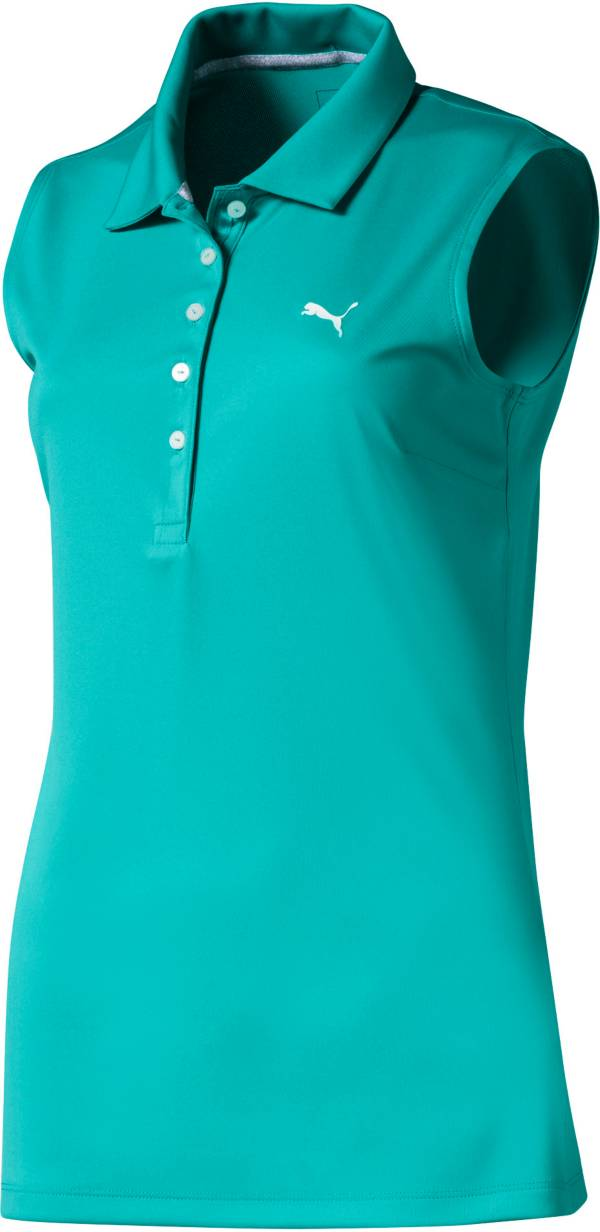 PUMA Women's Pounce Sleeveless Golf Polo product image