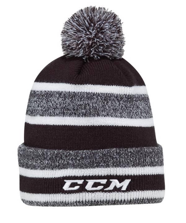 CCM Core Heathered Pom Knit Hockey Beanie product image