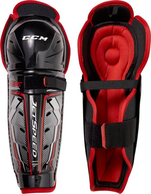 CCM Senior Jetspeed Edge Ice Hockey Shin Guards product image