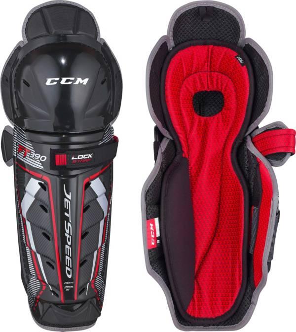 CCM Senior Jetspeed FT390 Hockey Shin Guards product image
