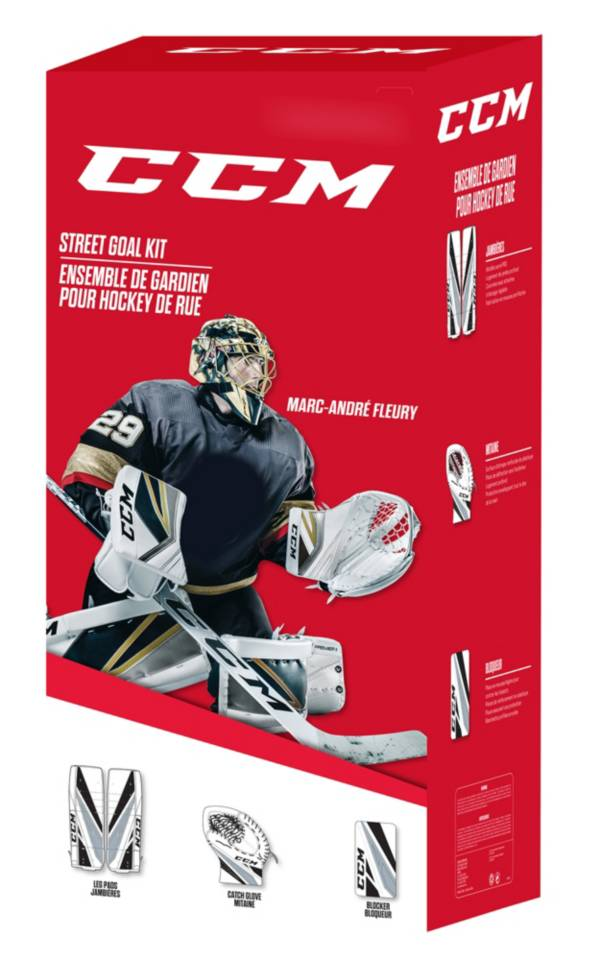 CCM Fleury Street Hockey Goalie Pad Set product image