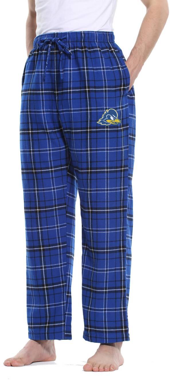 Concepts Sport Men's Delaware Fightin' Blue Hens Blue/Black Ultimate Sleep Pants product image