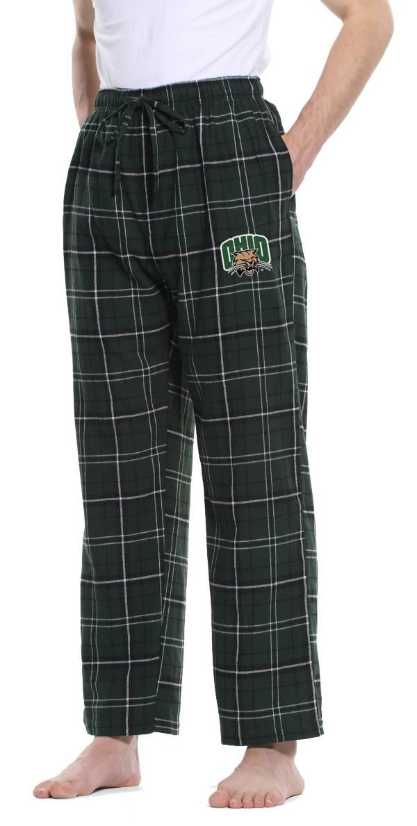 Concepts Sport Men's Ohio Bobcats Green/Black Ultimate Sleep Pants product image