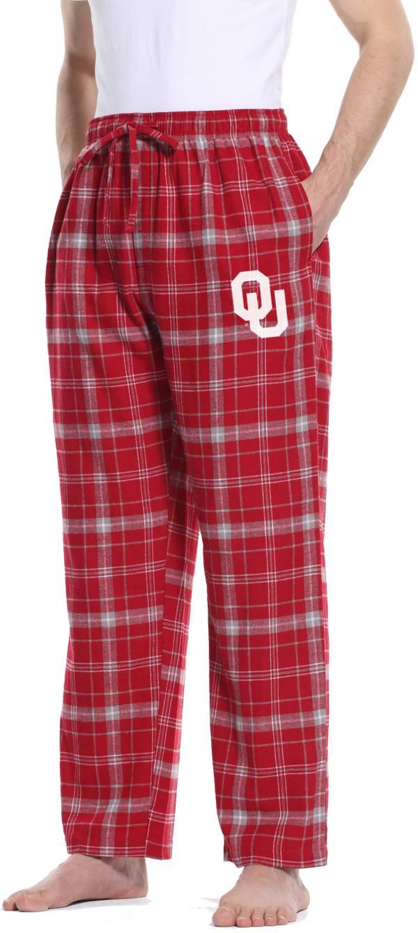 Concepts Sport Men's Oklahoma Sooners Crimson/Grey Ultimate Sleep Pants product image
