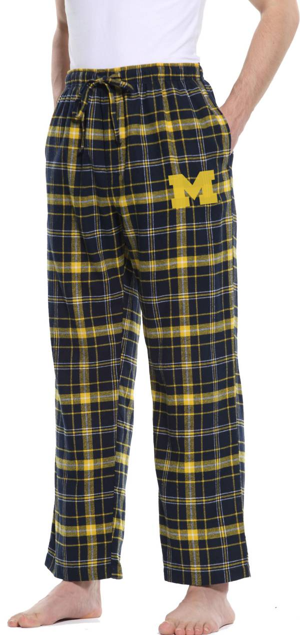 Concepts Sport Men's Michigan Wolverines Blue/Maize Ultimate Sleep Pants product image