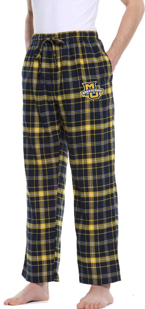 Concepts Sport Men's Marquette Golden Eagles Blue/Gold Ultimate Sleep Pants product image