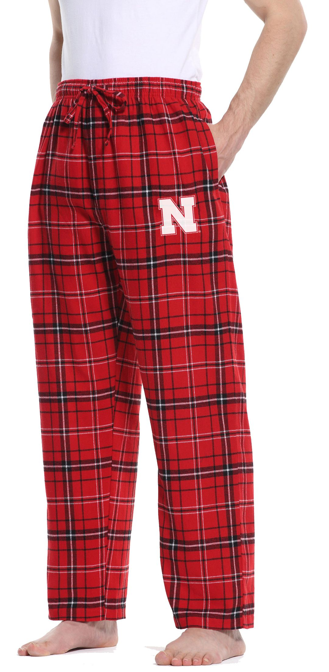 5408ff4e Concepts Sport Men's Nebraska Cornhuskers Scarlet/Black Ultimate Sleep Pants