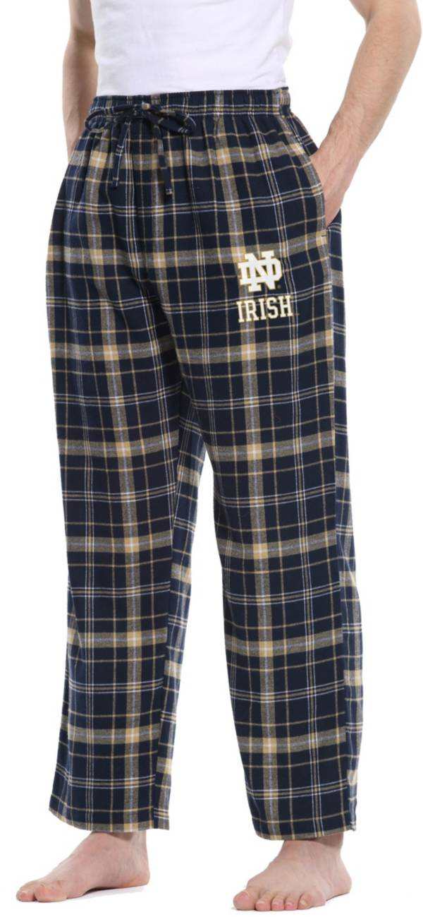 Concepts Sport Men's Notre Dame Fighting Irish Navy/Gold Ultimate Sleep Pants product image