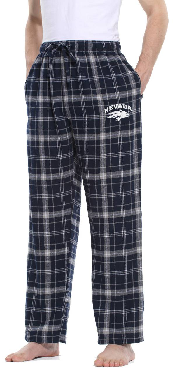 Concepts Sport Men's Nevada Wolf Pack Blue/Grey Ultimate Sleep Pants product image