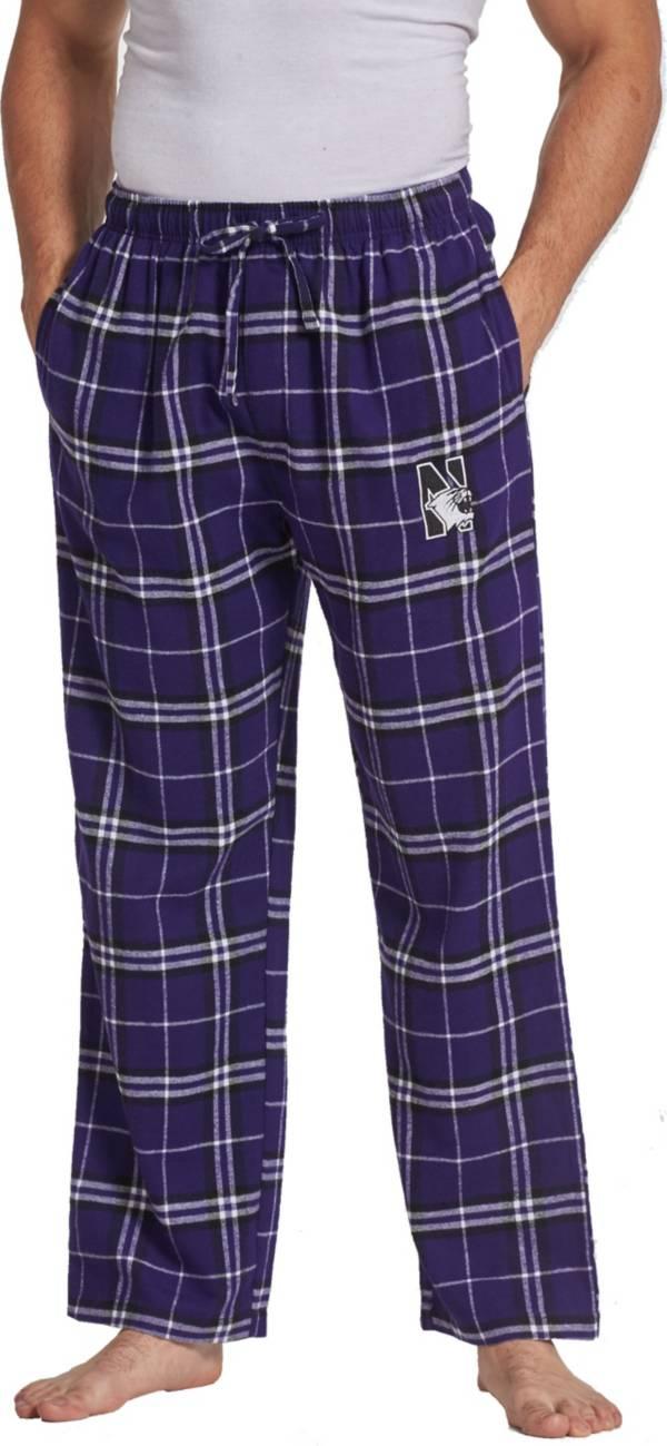 Concepts Sport Men's Northwestern Wildcats Purple/Black Ultimate Sleep Pants product image