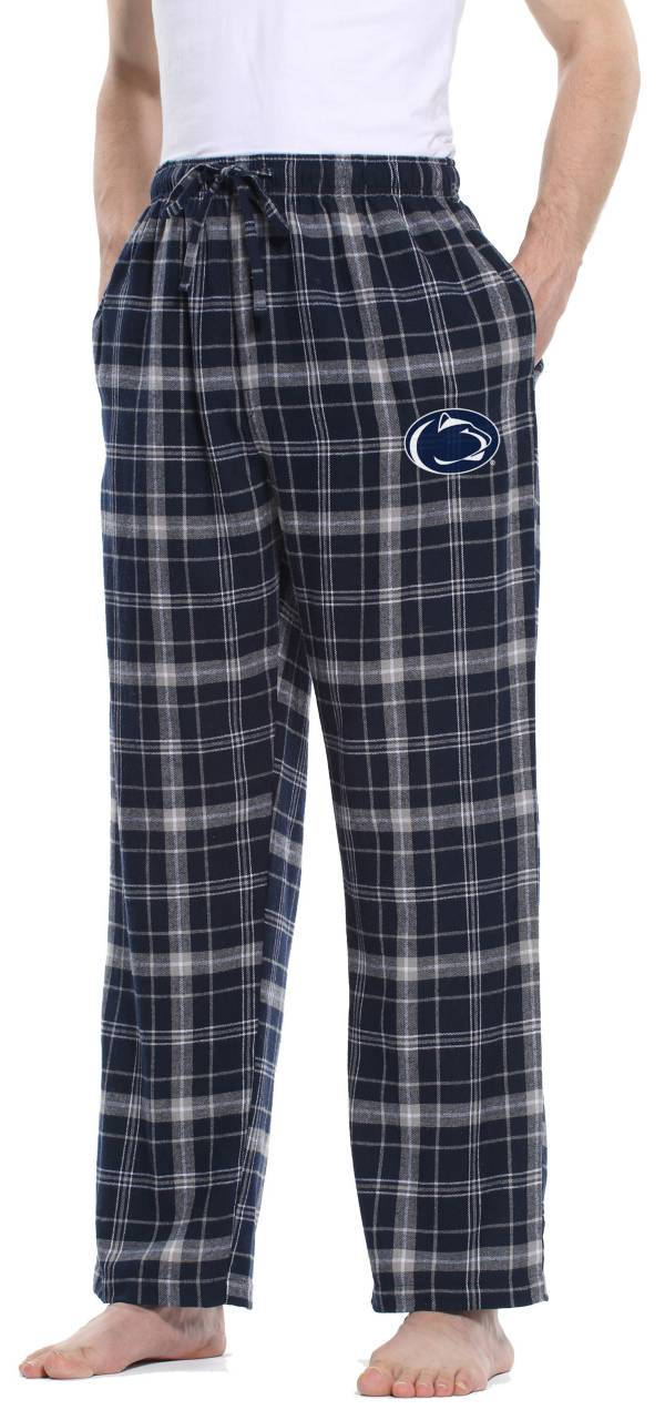 Concepts Sport Men's Penn State Nittany Lions Blue/Grey Ultimate Sleep Pants product image