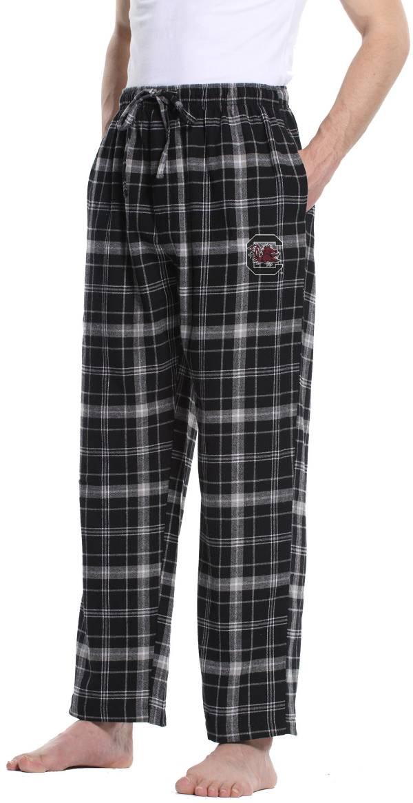 Concepts Sport Men's South Carolina Gamecocks Black/Grey Ultimate Sleep Pants product image