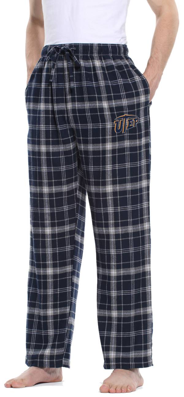 Concepts Sport Men's UTEP Miners Navy/Grey Ultimate Sleep Pants product image