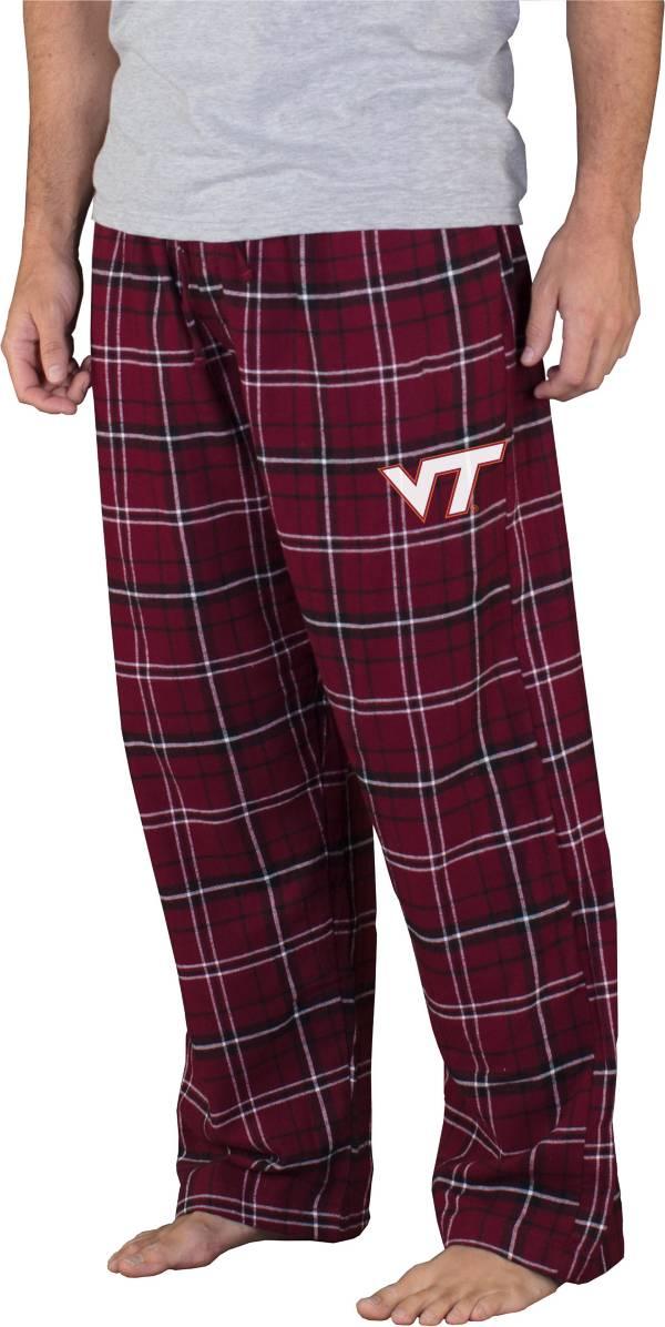 Concepts Sport Men's Virginia Tech Hokies Maroon/Black Ultimate Sleep Pants product image