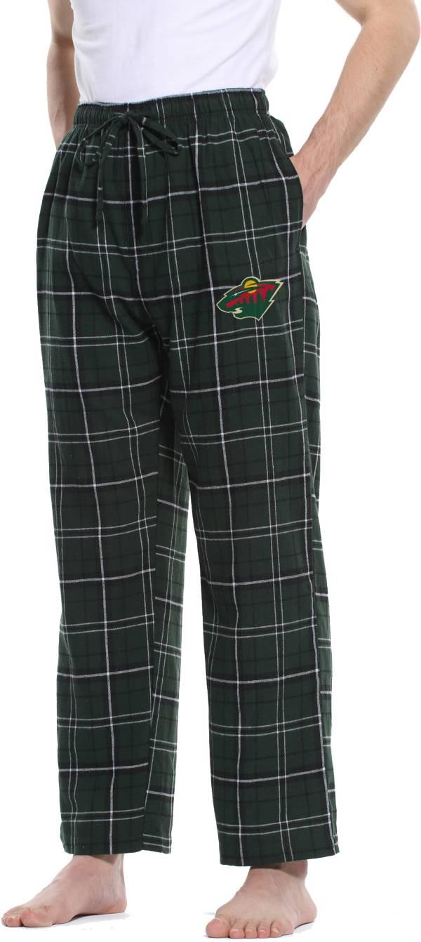 Concepts Sport Men's Minnesota Wild Ultimate Flannel Pants product image