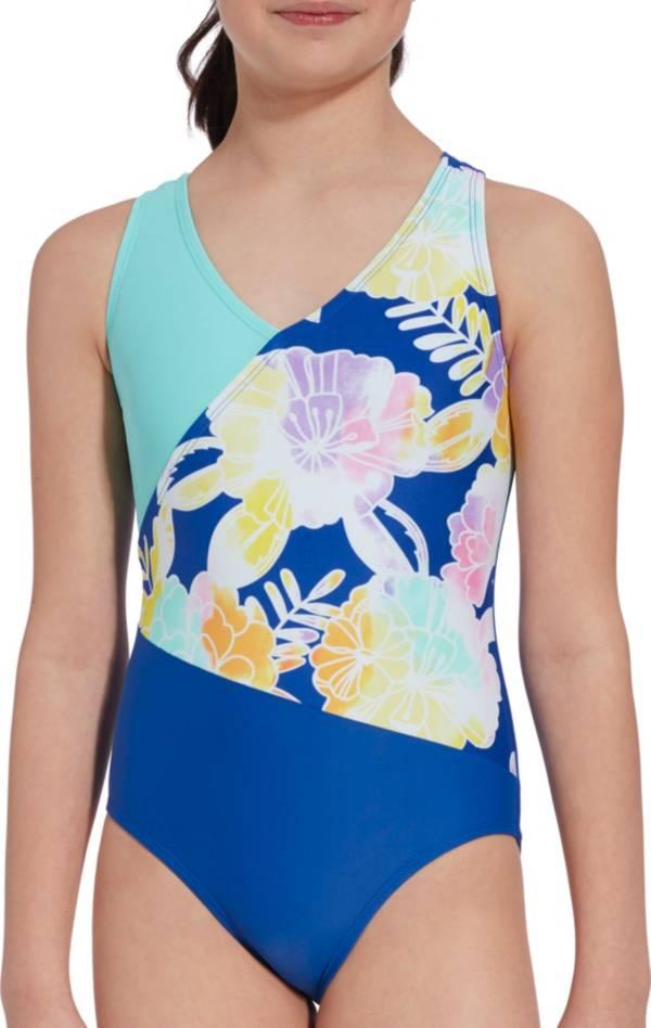 DSG Girls' Crossback Sport Fanatic Swimsuit product image